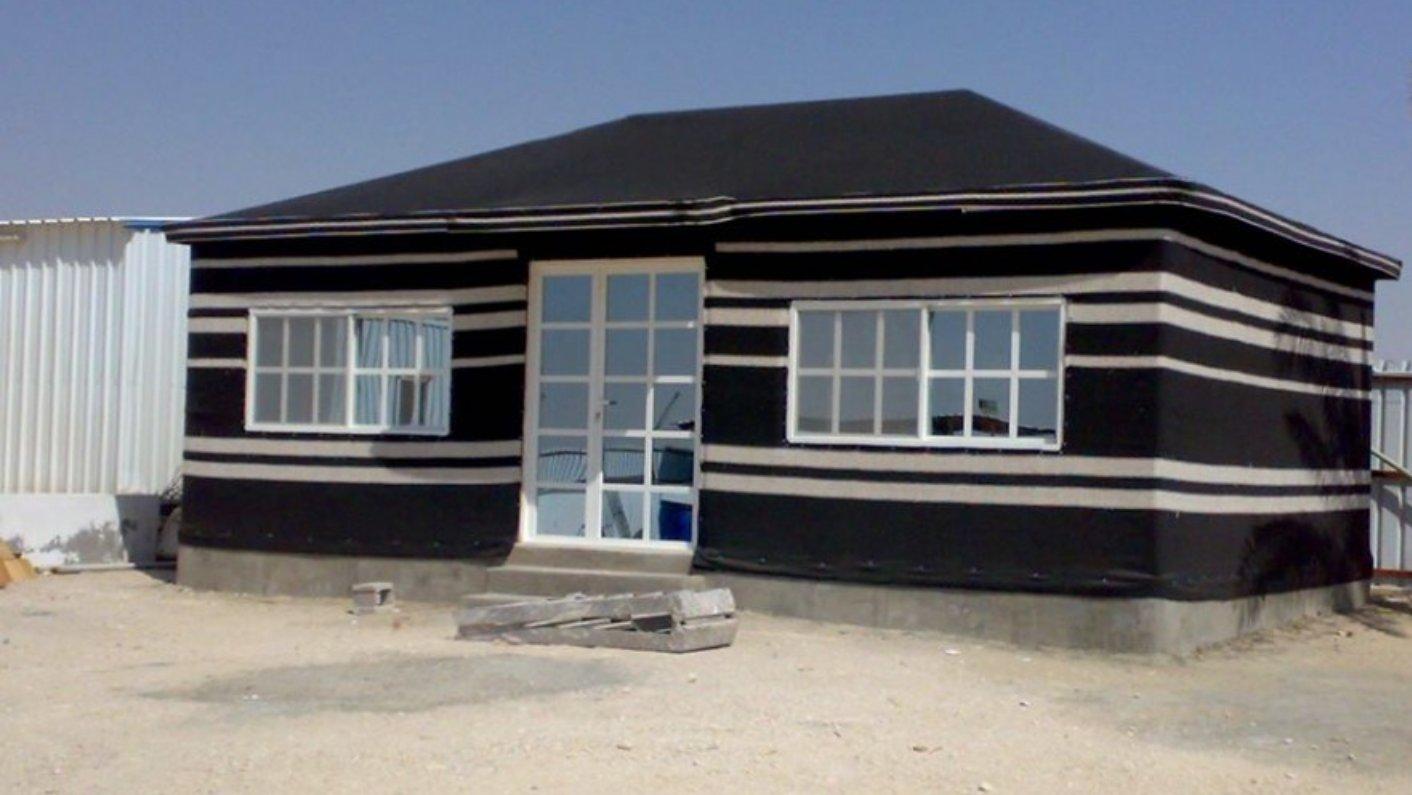 دليل بناء بيت شعر في الحوش