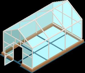دليل عمل بيت محمي منزلي بأقل التكاليف