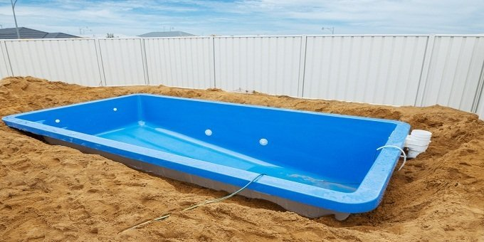 طريقة تركيب مسبح فيبر