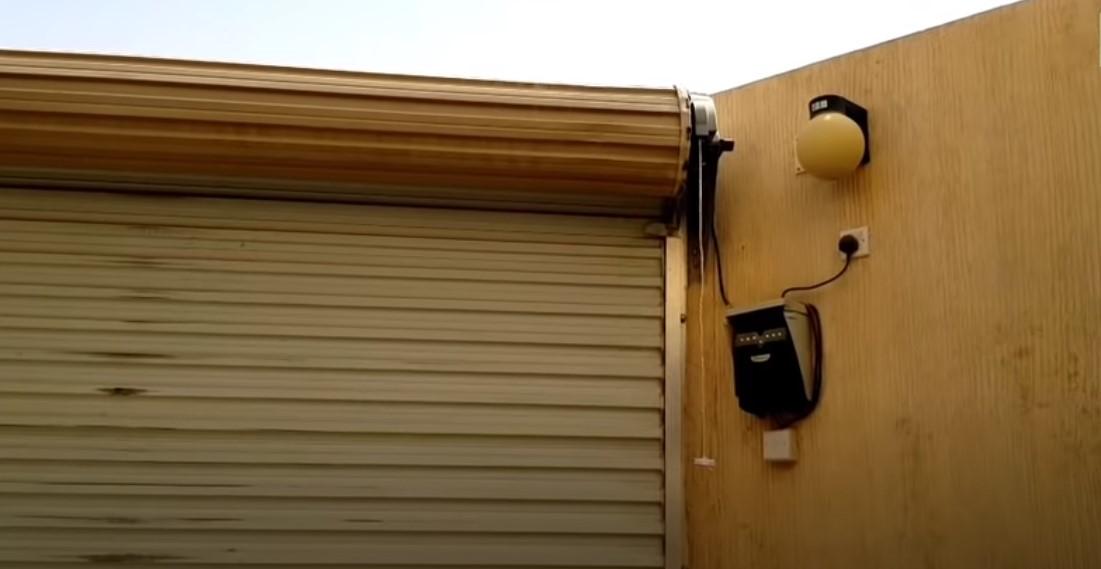 حل مشكلة باب الكراج معلق